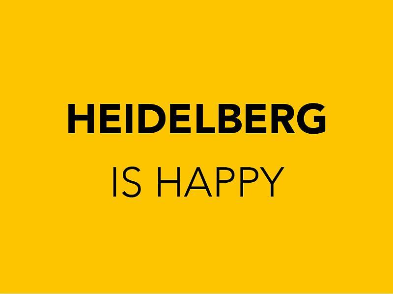 Happy Heidelberg Postkarten