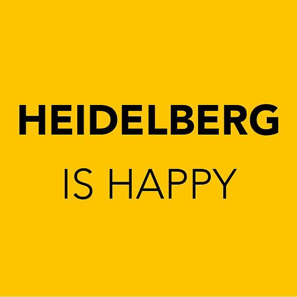 Heidelberg is Happy