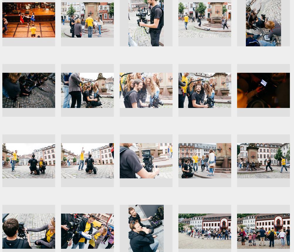 Blick auf das Fotoalbum von Thomas Jödicke